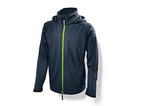 Softshell-Jacke Herren von Festool | In Schwarz Grün und Blau | Größe XL