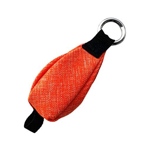 T TOOYFUL Générique Équipement d'Accrochage de Sac de Poids de Jet de Grenade d'escalade d'arbre de Chirurgie de 350g - Orange, comme décrit