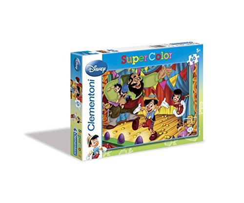 Clementoni - Puzzle de 60 Piezas con diseño Pinocho (26868.9)