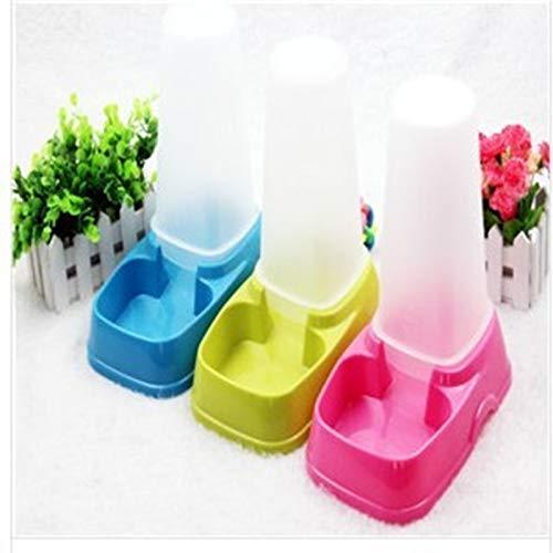 Smklcm automatische voeding Water Feeder Hond Ketel Zitten/verticaal/self-service Huisdier Water Dispenser, roze