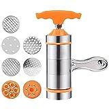ZJWD Prensa de Pasta Fabricantes de Pasta manuales, Máquina de fabricación de Fideos Multifuncional Manual operada a Mano para el hogar Herramienta de Cocina