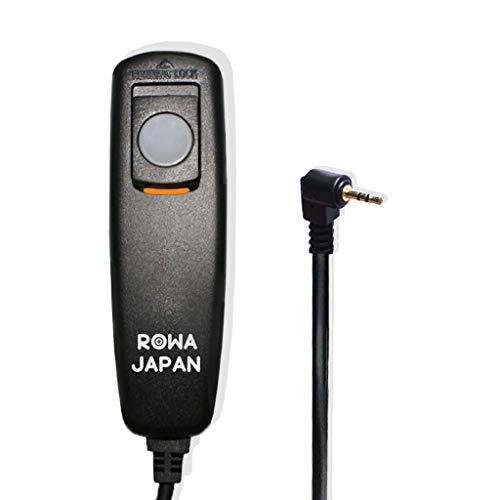 【ロワジャパン】Canon RS-60E3/PENTAX CS-205 対応 シャッター リモコン コード レリーズ【初心者向け/握りやすい】