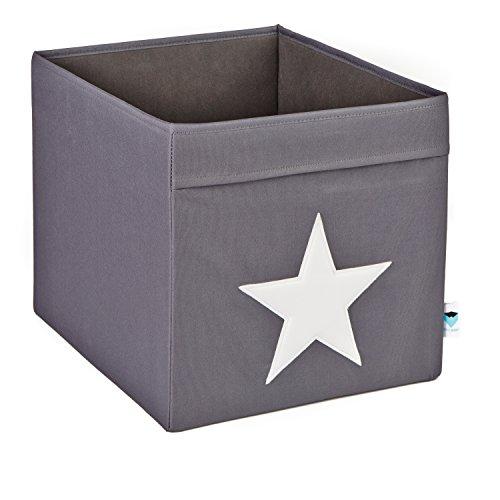 STORE.IT Aufbewahrungsbox, Polyester, Grau