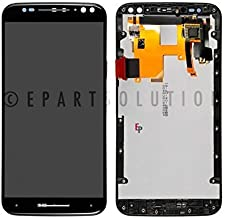 LCD Display Touch Screen Digitizer Frame Assembly Replacement Part Compatible with Motorola Moto X Pure Edition XT1575 Black
