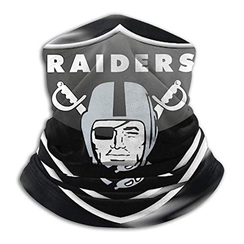 Oakland Raiders Face Bandanas Neck Gaiter Face Cover Scarf Balaclava Lightweight Breathable Fishing Running Cycling Spprts-OaklandRaiders-6-