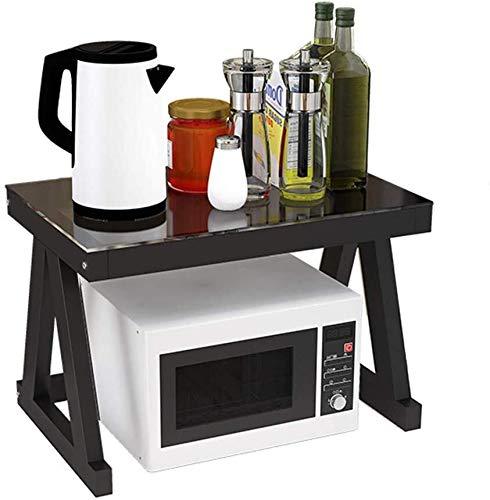 Microondas digitales horno Horno microondas soporte de almacenamiento en rack gabinete de cocina Contador Plataforma Organizador encimera Plataforma Tostadora Soportes de Metal horno de microondas Man