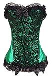 Nvfshreu Señoras Bustier Palace Camisa Vestidos Fuerza De De Adelgazamiento para Estilo Simple Usar Elegante Vintage Steampunk Gótico Burlesque Disfraz del Cuerpo Tallado Corsé Tetona Ramillete