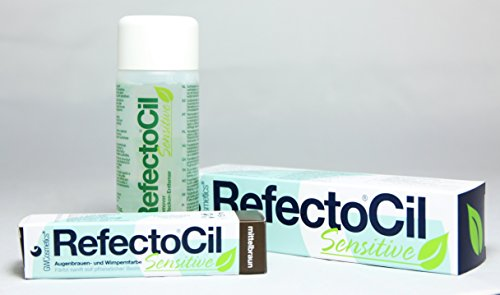 Refectocil Sensitive 3 Stück Set - Mittelbraun