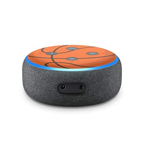 PrintAttack P085 - Juego de 2 protectores de pantalla para altavoz inteligente Alexa de 3ª generación (Kids Edition, 05 baloncesto)