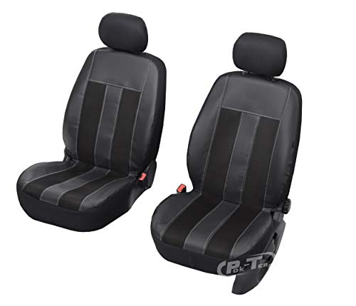 Nieuwe serie - GT universele stoelhoezen compatibel met Suzuki Swift vanaf 2016 5-deurs eenvoudige montage voorste hoezen GT Carbon.