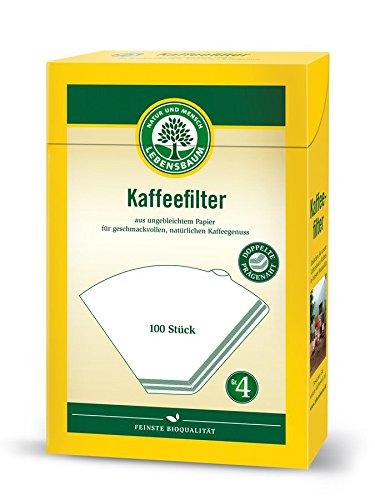 Lebensbaum Bio Kaffeefilter Gr. 4 (18 x 100 Stk)