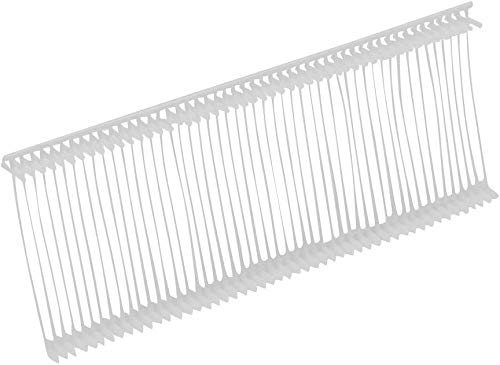 2000 White Tag Gun Barbs ( Fasteners ) Size 15mm (3/4' ) For Any Standard Price Labels Clothing Tagging Attachers