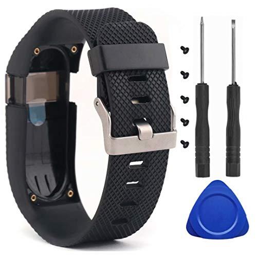 T-BLUER Compatible Fitbit Charge HR Correa,Cintas de Silicona de Repuesto para Fitbit Charge HR Watch Fitness Rastreador de Pulsera de Reloj Accesorios para Pulsera