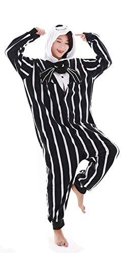 "Animal Lindo Unisex algodón Pijamas Adulto Mujer Hombre Ropa de Dormir (S(Fit Height 57.9""-61.8""), Kulou)"