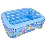 NXYJD Inflable Piscina Cuenca del bebé portátil de bañera Agua de la Piscina for la Bola del Juego Pit Partir de 3 años
