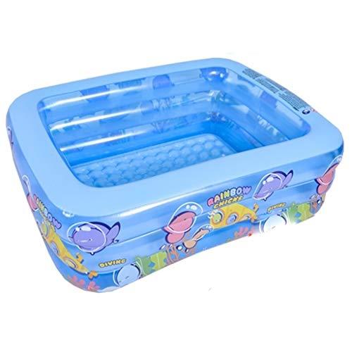 Nologo WHJYO Aufblasbarer Pool Swimming Pool bewegliches Baby-Becken Badewanne Pool-Wasser-Spiel-Ball Pit for Alter 3+