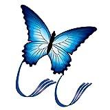 Wakauto Cometa de Mariposa Colorida Increíble Cometa de Mariposa Divertida Y Encantadora Cometa Voladora Cometa de Animales para Jugar a Los Niños Juguete Al Aire Libre