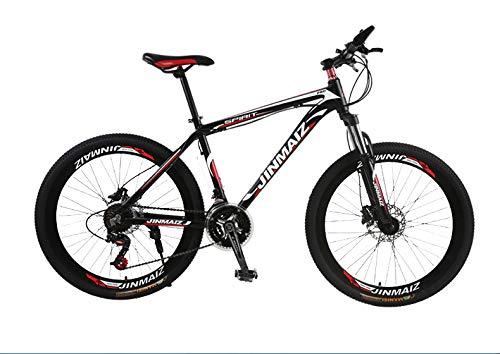 UR MAX BEAUTY Mountain Bike Für Männer Frauen, 26in Carbon Steel 21 Geschwindigkeit Fahrrad Klapprad,d,21 Speed
