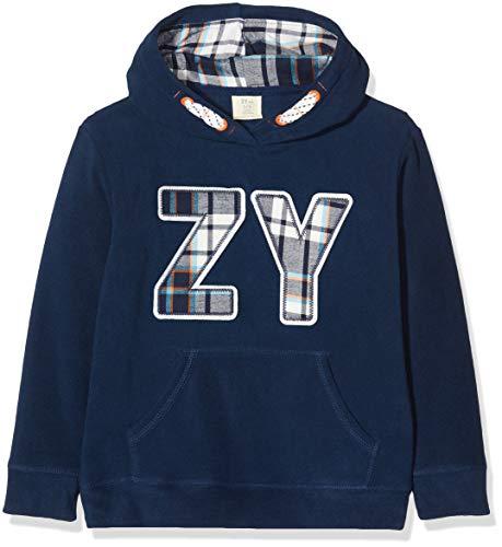 ZIPPY Jersey Polar ZY, Azul (Dress Blue 19/4024 TC 185), 5 años (Tamaño del Fabricante:4/5) para Niños