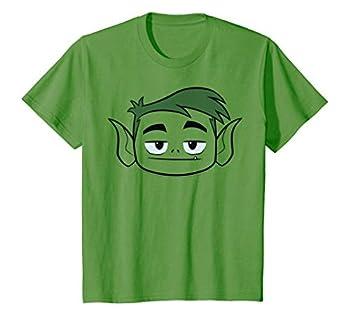 Kids DC Comics Teen Titans Go! Beast Boy Big Face T-Shirt