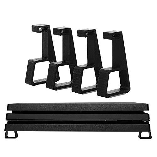Soporte plano de 4 piezas para elevar el soporte, patas de refrigeración horizontales, para PS4/Slim/PRO. Base de pie