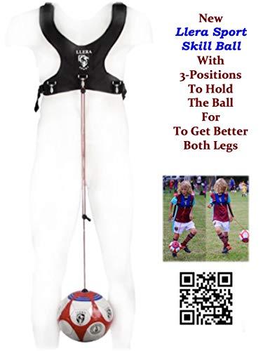 Trainer palla da calcio.Calcio formazione attrezzature. Calcio allenatore. Pallone da calcio, per allenamento. Calcio solo Kicking pratica. Soccer Skill Ball.Scarpa da calcio.