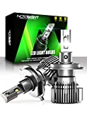 NOVSIGHT H4/9003 LED Headlight Bulbs, 20000 Lumens 600% Extremely Brighter Hi/Lo...