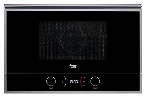 Teka ML 822 BIS L Microondas con grill, 2500 W, 22 litros, Otro, INOX