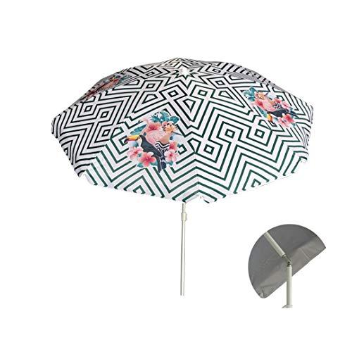 Sombrilla parasol Playa 200 cn Aluminio UPF+50 99% UV