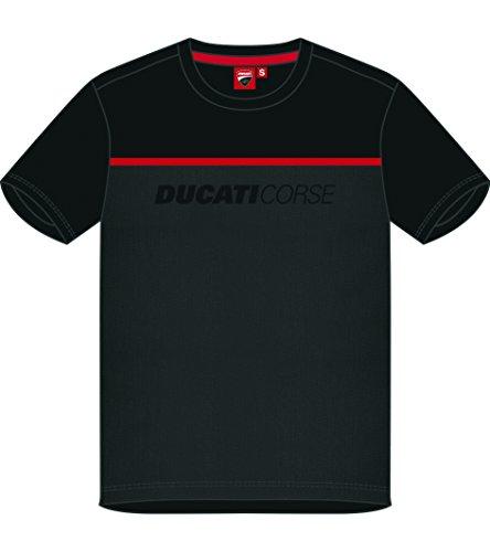 Pritelli 1836005/XXL T-Shirt für Herren, Schwarz, Größe XXL
