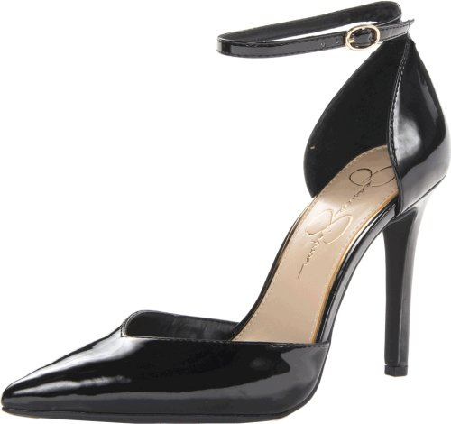 Jessica Simpson Women's Cirrus Dress-Pump, Black, 5.5 Medium US