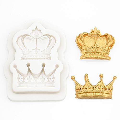 HGFJG Princesse Couronne Silicone Moule Moule Outils De Décoration De Gâteau Chocolatemold`` Accessoires De Cuisine