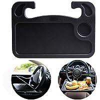 Daifuqihua Portable Multifunctional Steering Wheel Tray (Black)