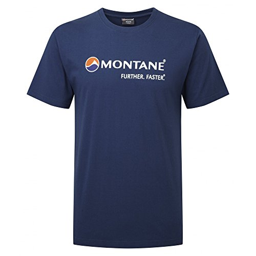 Montane Logo Laufen T-Shirt - Medium