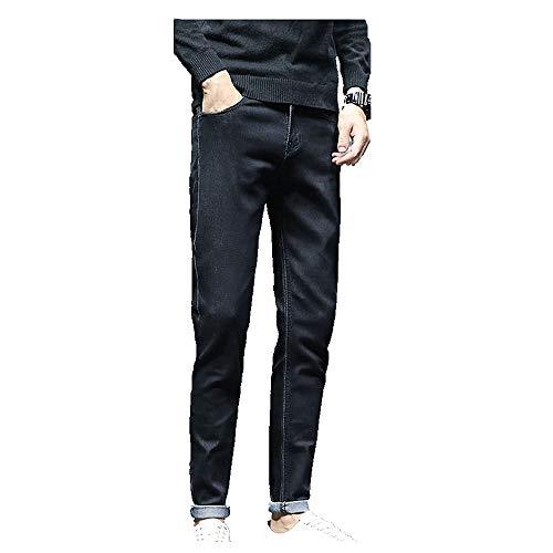 N\P Slim fit pequeño pie primavera y otoño pantalones vaqueros de hombre estiramiento casual pantalones