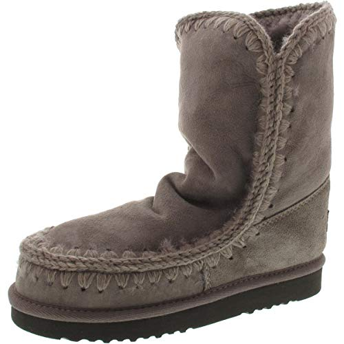 Mou Lammfell-Boots ESKIMO Boot (24 CM), Rock (38)