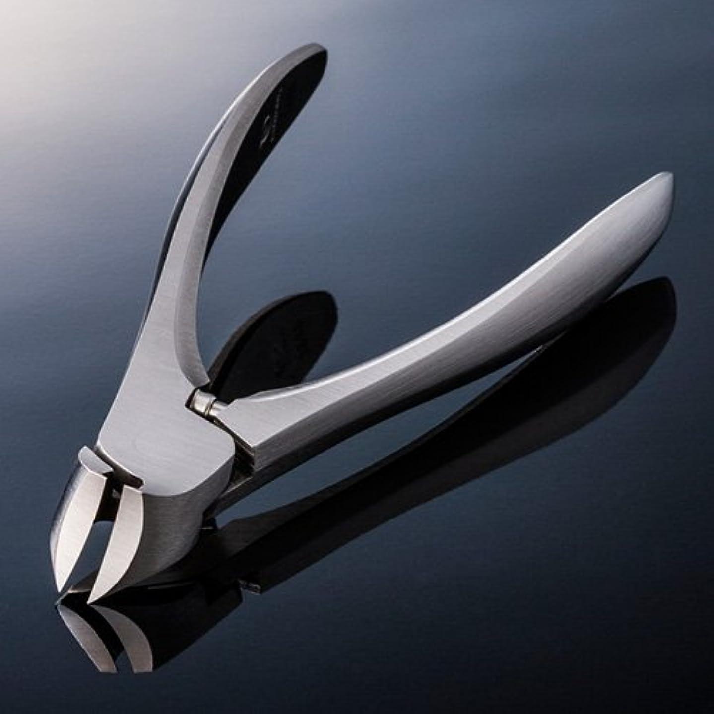 悲しむリベラル調査【SUWADA クラシックL 爪やすり付】 諏訪田のつめ切り 爪切り ネイルニッパー 収納メタルケース付 /日本のいいもの