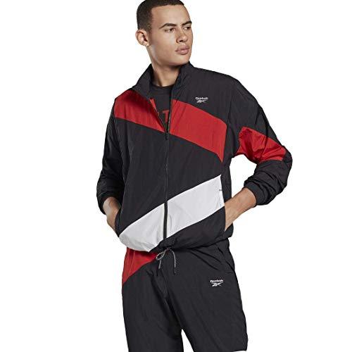 Reebok Track Jacket, Black, XL