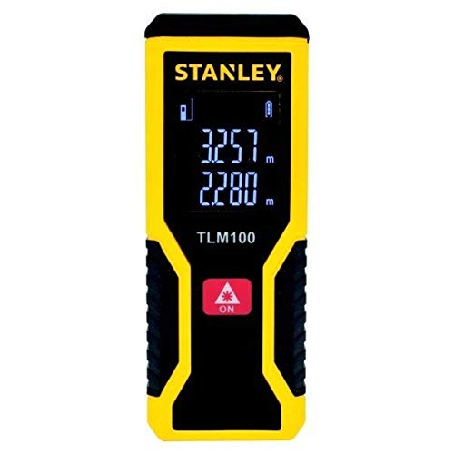Trena Laser 30 Metros - Stht77410 Stanley Stanley Amarelo/preto 30m