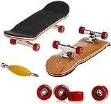 Fingerboard   Finger Skate Profesional   Mini diapasón   Patineta de Dedos   Mini monopatín Profesional de Madera   Deportes Interior y Exterior   Juguete de Skateboarding   Juego de Deportes