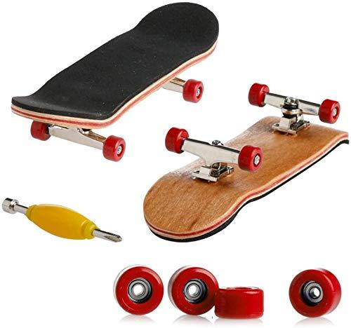 Fingerboard | Finger Skate Profesional | Mini diapasón | Patineta de Dedos...