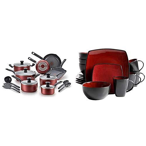 T-fal, Dishwasher Safe Cookware Set 18 piece