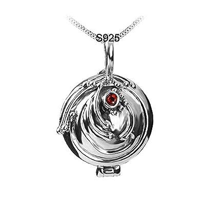 Elena's Vervain Locket Necklace Katherine's Daylight Walking Pendant
