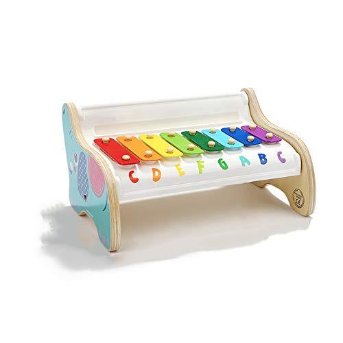 Lihgfw Klopfen Kindermusik Hand auf Klavier Baby-Spielzeug-Klavier Kindermusik Klavier Xylophone Schlaginstrument Geeignet for Kinder über 1 Jahr alt (Color : Multi-Colored)
