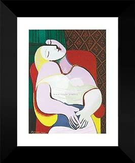 Pablo Picasso Framed Art Print 18x15