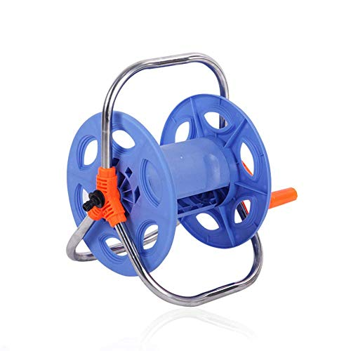 Tuinieren Pipe Reel zonder slang Portable tuin Outdoor Hosepipe Reel Geschikt voor waterleidingen onder 30m en Outer Diameter 20 mm