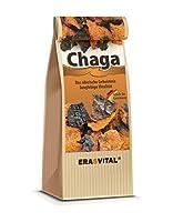 Chaga Pilz Brocken (150g) - Immer frisch geliefert - Aus Sibirien - Schonend getrocknet, wildgesammelt & GMP-zertifiziert