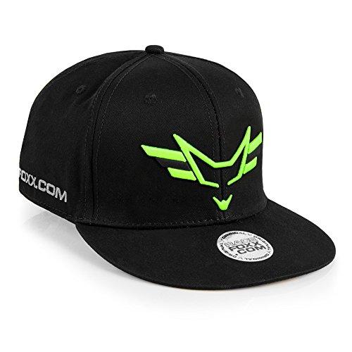 RACEFOXX Wings Snapback Cap, muts, hoofddeksel Stick neon groen