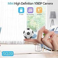 HEITIGN ミニカメラ、ミニ高精細1080pカメラ、1080Pセキュリティカメラモーション検出付きポータブル小型hd乳母カム、家庭用およびオフィス用hdビデオカメラスポーツカメラ