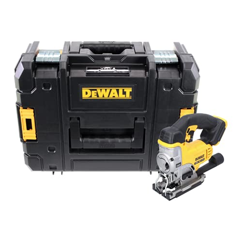 DeWalt DCS 331 NT Sierra de calar con batería de iones de litio de 18 V XR en DeWALT TSTAK Box DWST1-70703 con inserto